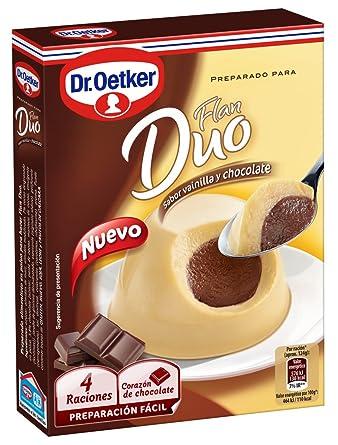 OETKER preparado para flan duo vainilla y chocolate caja 92 gr