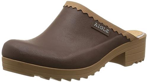 Aigle Victorine Sabot, Botines para Mujer, Marron (Brun/N), 35 EU: Amazon.es: Zapatos y complementos