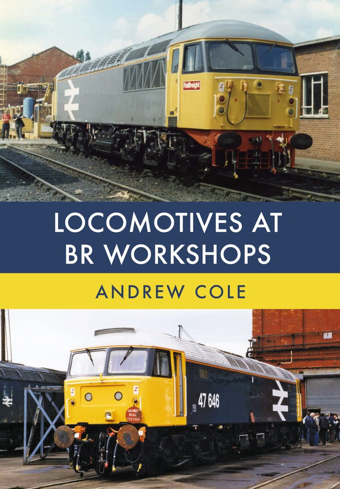 Locomotives at BR Workshops ebook