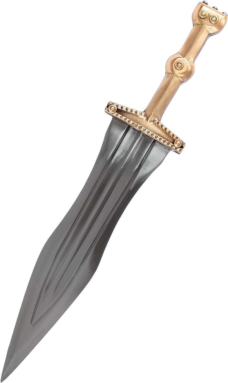 Battle-Merchant Leween Pugio r/ömischer Dolch Echt Metall F/ür Erwachsene
