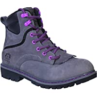 """King's by Honeywell (KWLK02-GRY-080) 6"""" WOMEN'S Steel Toe Welted Leather Work Boot, Gray, Size 8"""