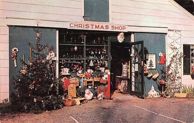 Amazon.com: Yarmouth Port Massachusetts Christmas Tree Shops Vintage  Postcard K69232: Entertainment Collectibles - Amazon.com: Yarmouth Port Massachusetts Christmas Tree Shops Vintage