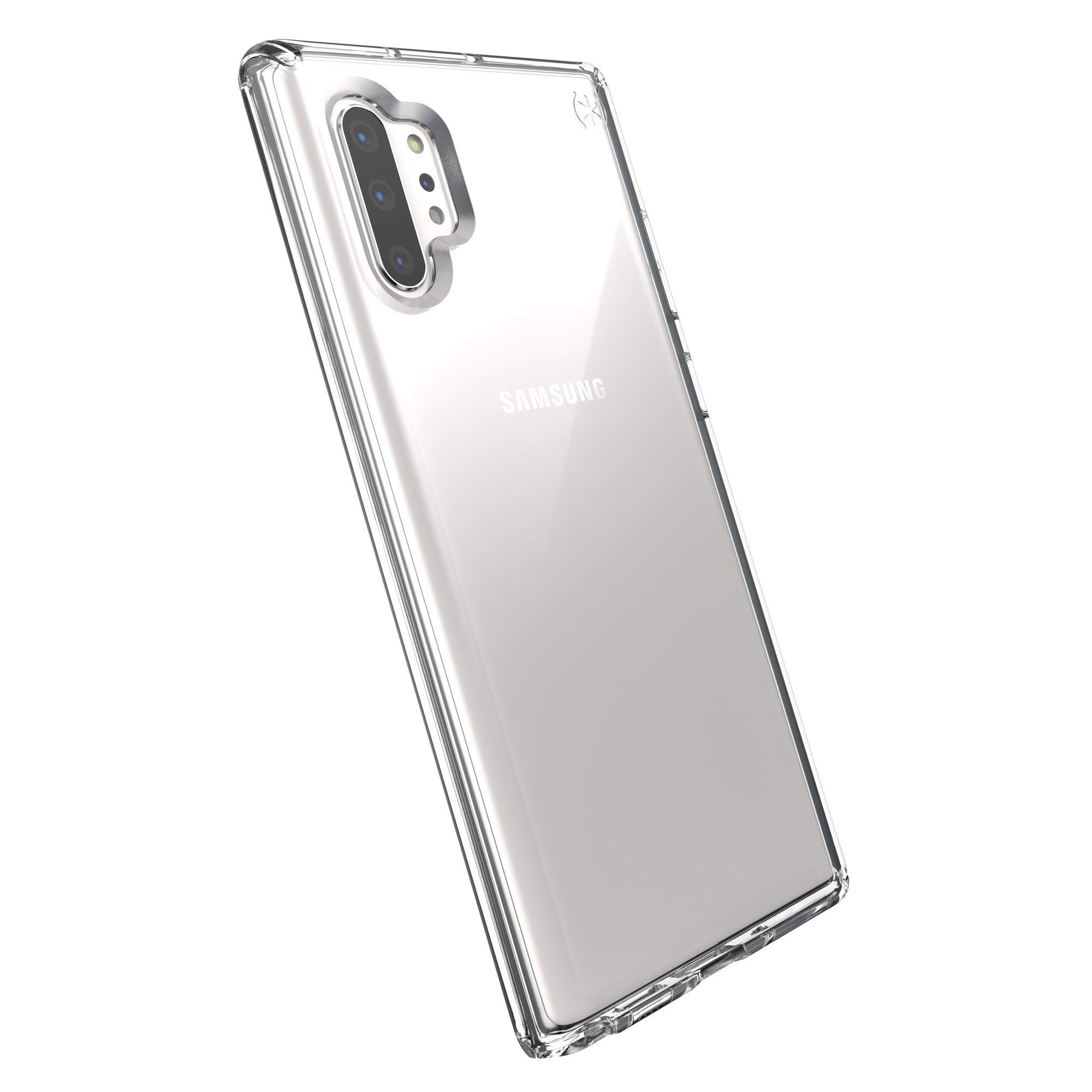 Speck Presidio Stay Clear Samsung Galaxy Note 10+ Case, Clear/Clear