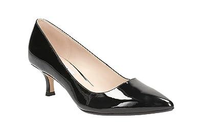 Clarks Aquifer Soda - Black Patent Womens Heels 3 UK E