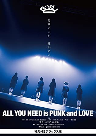 amazon all you need is punk and love 特典付きデラックス版 dvd
