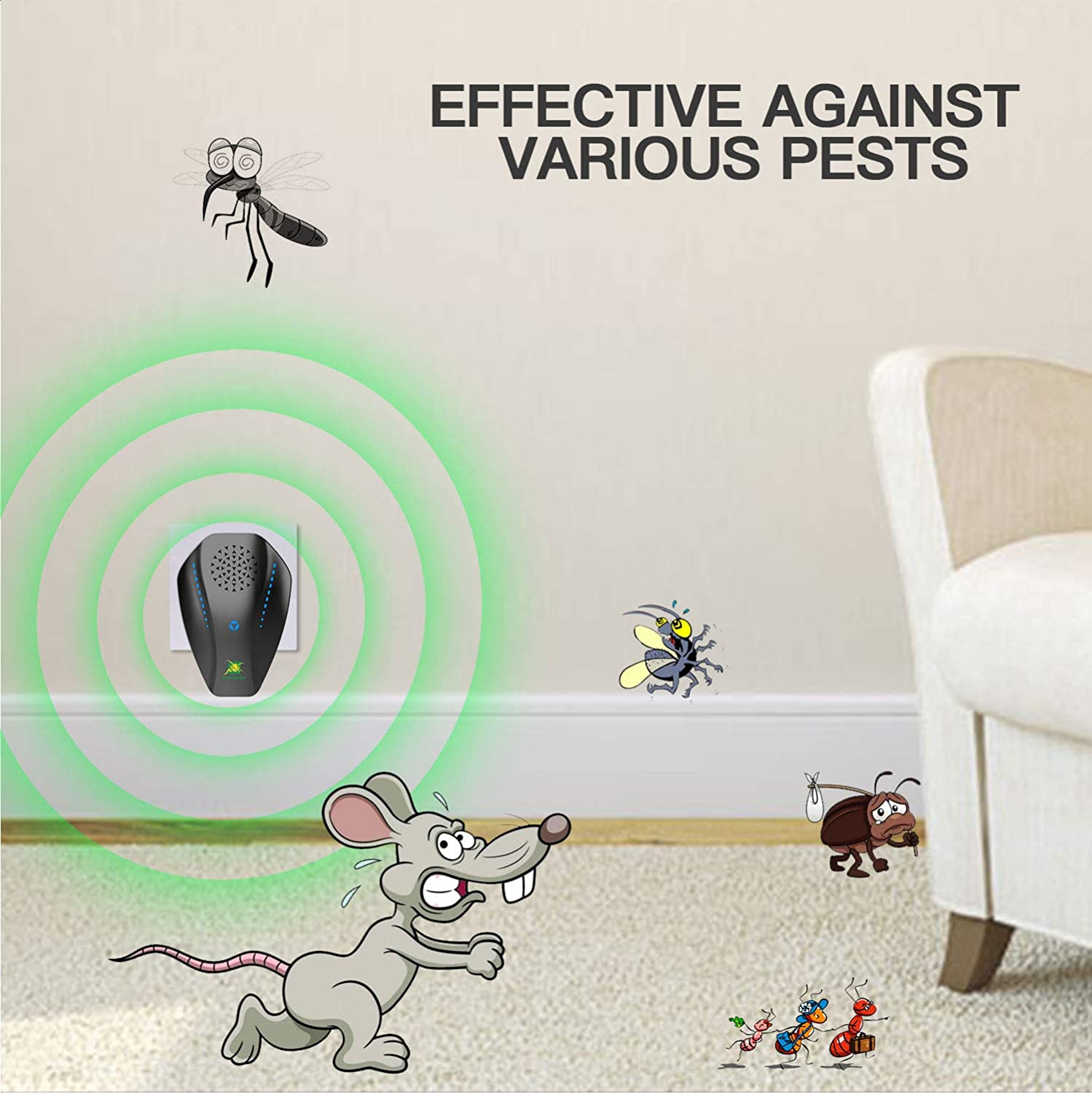 Neatmaster Ultrasonic Pest Reject