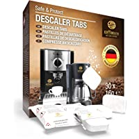 Coffeeano 30x ontkalkingstabletten voor koffiemachines en koffiezetapparaten, inclusief gratis eBook…