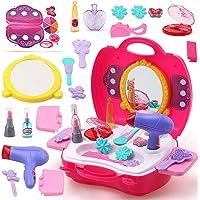 AV INT Beauty Set for Girls with Dryer