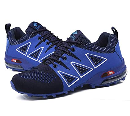 6b4d44e01a799 Amazon.com: FGSJEJ Summer Hiking Shoes Men's Trail Running Shoes Non ...