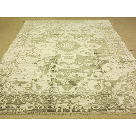 Amazon Com 8 X 10 Hand Knotted Bamboo Silk Design Oriental Rug