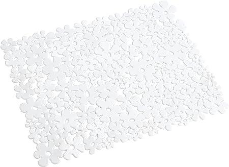 SPÜLMATTE PVC BLUMENDESIGN SPÜLBECKENMATTE SPÜLBECKEN EINLAGE MATTE
