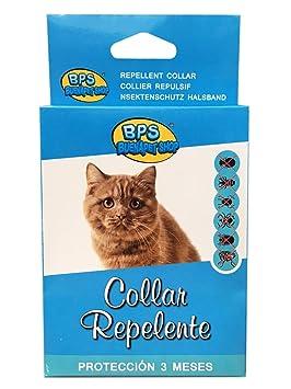 BPS (R Collar Repelente, Repellent Necklace para Gato, Animales Domésticos.: Amazon.es: Deportes y aire libre