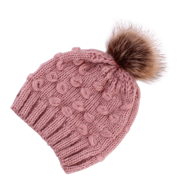 Eric Carl Cute Toddler Kids Boy Hat Infant Warm Cap Winter Wool Hat Knit Hat for Girls Childrens Hat