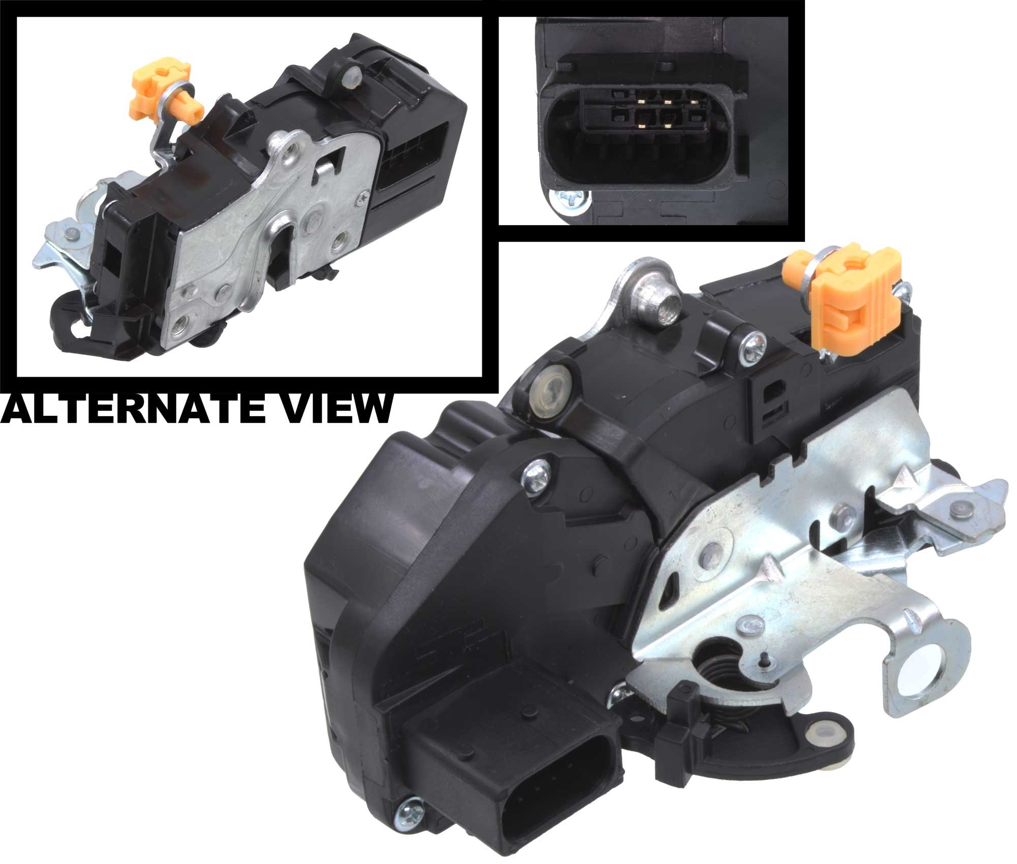 APDTY 042414 Door Latch & Lock Actuator Motor Assembly Fits Front Left (Driver Side Front) 07-09 Escalade, Avalanche, Silverado, Suburban, Tahoe, Sierra & Yukon (Replaces 15880052, 15889954, 20783846) by APDTY