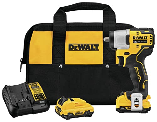 DEWALT DCF902F2 XTREME 12V MAX Brushless 3 8 in. Cordless Impact Wrench Kit