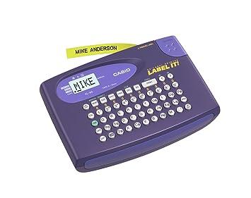Amazon.com: Casio KL-60 impresora de etiquetas, Púrpura ...