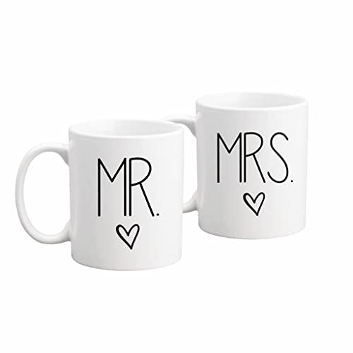 the coffee corner mr and mrs coffee or tea mug set 11