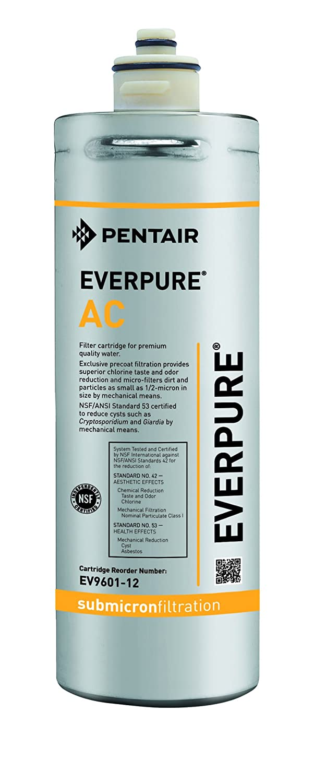 Everpure Filtro ricambio mod. AC da 0,5 micron - autonomia 2840 litri EV960112
