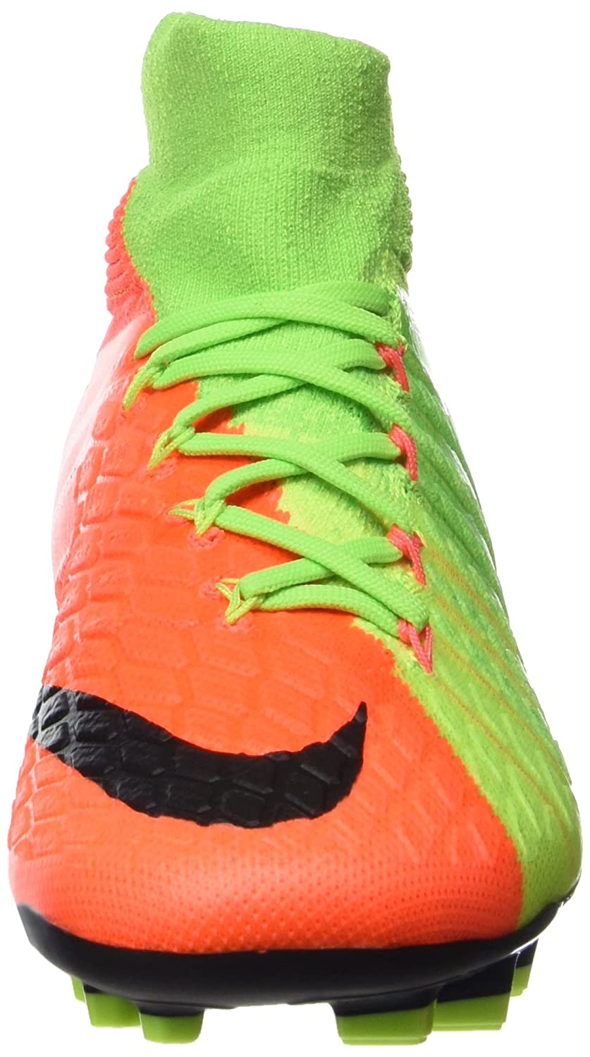 Nike Youth Hypervenom Phantom III Dynamic Fit FG Cleats [ELECTRIC GREEN]  (4. 5Y): Buy Online at Low Prices in India - Amazon.in