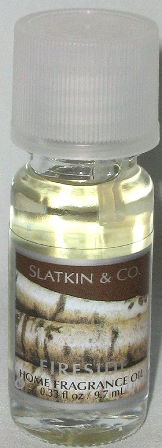 Bath & Body Works FIRESIDE .33 oz home fragrance oil By Slatkin & Co