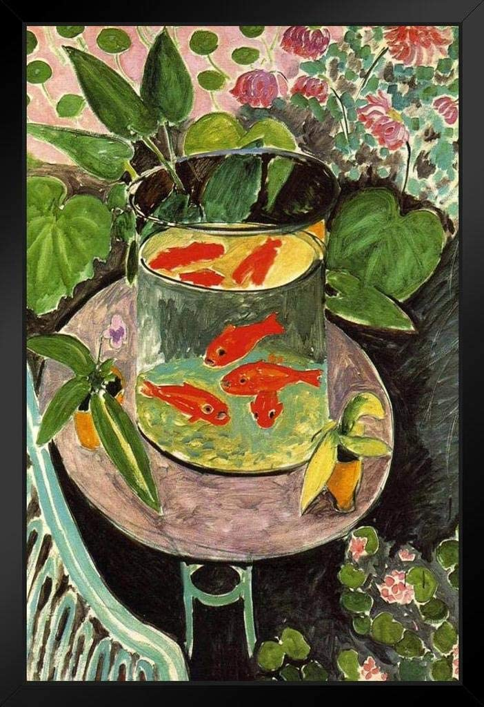Henri Matisse Goldfish Art Print Cool Huge Large Giant Poster Art 36x54