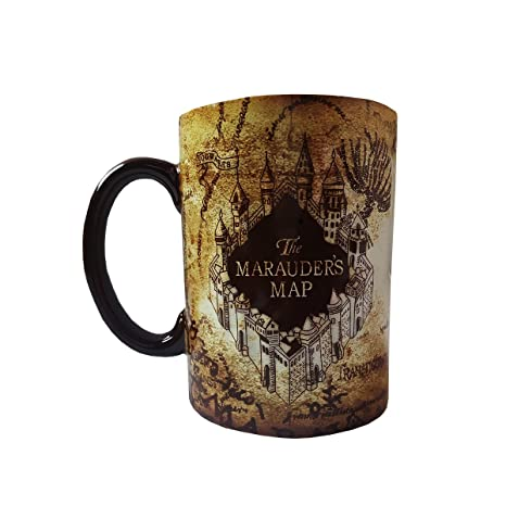 Amazon wizarding world of harry potter marauders map ceramic wizarding world of harry potter marauders map ceramic mug gumiabroncs Image collections