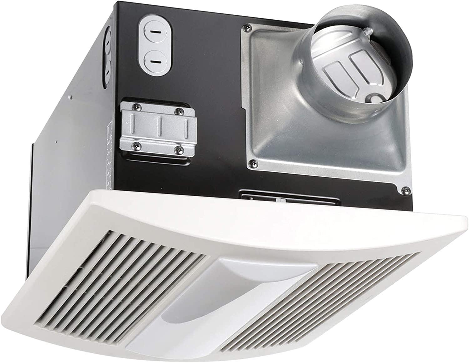 5 Bathroom Exhaust Fans With Light And Heater Features ...