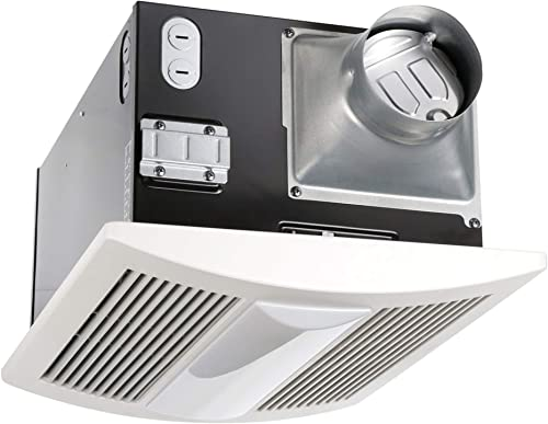 Panasonic FV-11VHL2 WhisperWarm 110 CFM Ceiling Mounted Fan Heat Light-Night-Light Combination, White