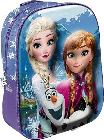 Toalla de Disney Frozen Mochila 3D para niños, 31 cm: Amazon.es: Equipaje