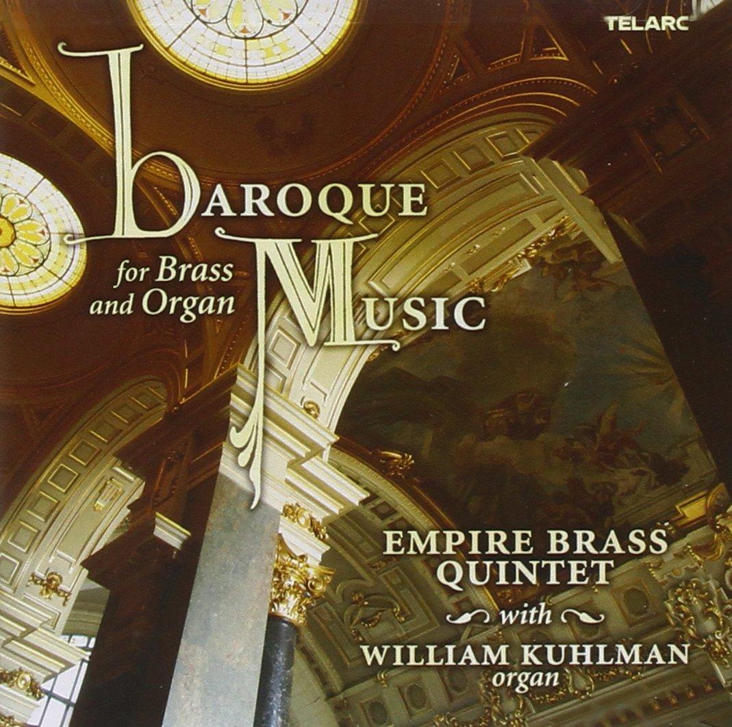 Baroque Music for Brass & Organ by Telarc