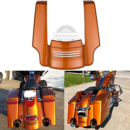 Beautiful Led Light Rear Fender Fascia Set For Harley Touring Road King Electra Street Glide Flhr Flht Flhx Flhtcu 2014-2018 Available In Various Designs And Specifications For Your Selection Covers & Ornamental Mouldings