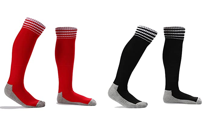 AnaZoz Calcetines Niño Calcetines Futbol Calcetines Gruesos Calcetines Largo Calcetines Deportivos Hombre Calcetines Futbol Hombre Calcetines