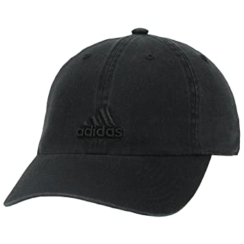 adidas – Gorra Saturday de mujer - 975318, Talla única, Negro/Negro