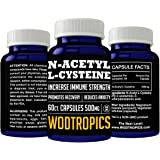 N-Acetyl-Cysteine Capsules For Immune Strength, Recovery, and Reduce Anxiety - N-Acetyl-Cysteine Nootropic for Enhancing Mental and Physical Performance by WodTropics