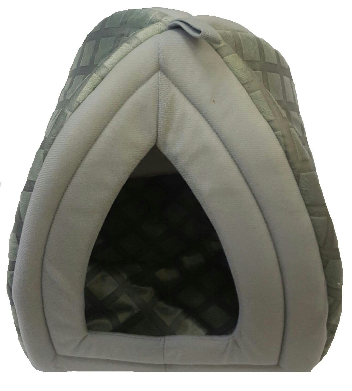 Mega Jumble - Cama polar estilo iglú de perro/gato: Amazon.es: Productos para mascotas