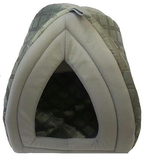 Mega Jumble - Cama polar estilo iglú de perro/gato