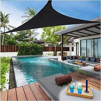 6.x 6.x6. Sombra toldo para jardín 95% protección UV toldo de triángulo Impermeable a Prueba de Moho para jardín Piscina terraza tamaño Personalizado: Amazon.es: Deportes y aire libre