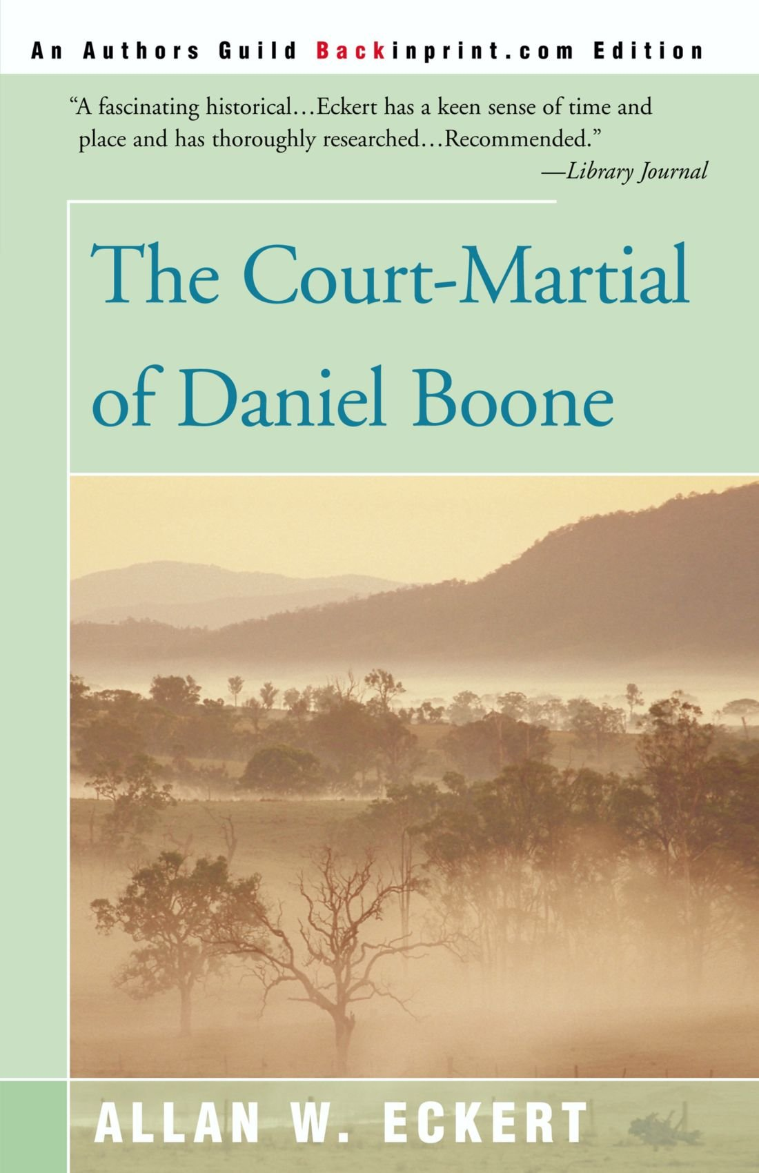 The Court-Martial of Daniel Boone