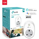 TP-Link WiFi Smart Plug, Funciona con Amazon Alexa (Echo y Echo Dot), Google Home y IFTTT, no Requiere Hub, controla Tus Dispositivos Desde Cualquier Lugar