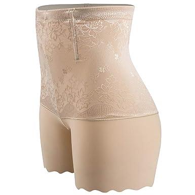 a5cc0ad3e3 SURE YOU LIKE Damen Figurenformend Miederpants Miederhose Shapewear Bauch  Kontrolle Unterwäsche Body Shape Nahtlose Boyshort  Amazon.de  Bekleidung