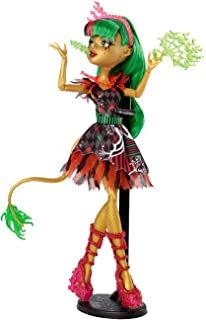 Amazoncom Monster High Ghouls Getaway Jinafire Long Doll Toys