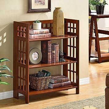 CivilWeaEU- American Style Regal Wohnzimmer Bücherregal Einfache ...