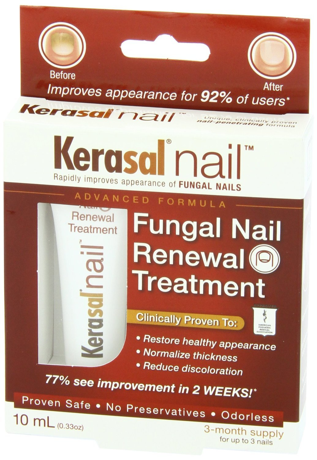 Amazon.com : Kerasal Nail Fungal Nail Renewal Treatment Value Size ...