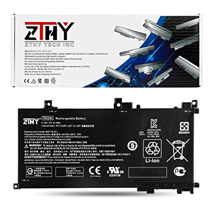 ZTHY TE03XL 11.55V 61.6Wh Battery for HP Pavilion Notebook PC 15 Omen 15-BC000 15-BC015TX 15-AX033DX 15-AX000 Series 849910-850 HSTNN-UB7A 849570-541 ...