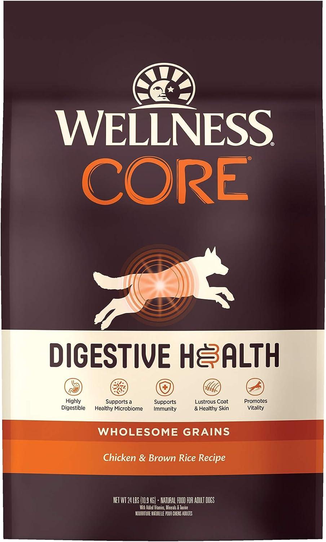 Wellness CORE Digestive Health Whitefish & Brown Rice Dry Dog Food