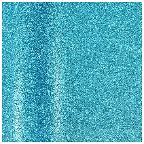 Ocean Blue Paper (JAM Paper® Gift Wrapping Paper - Aqua Blue Glitter - 11.5 Sq Ft - Roll Sold Individually)