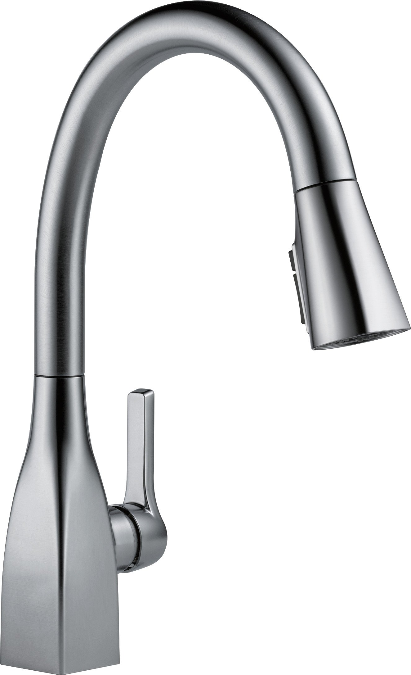 Delta 9183-AR-DST Mateo Single-Handle Pull-Down Kitchen Faucet with Magnetic Docking Spray Head, Arctic Stainless
