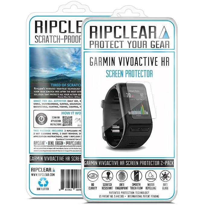 Ripclear Garmin Vivoactive HR Smartwatch Screen Protector Kit ...