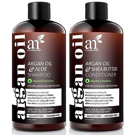 Organic Moroccan Argan Oil Shampoo and Conditioner