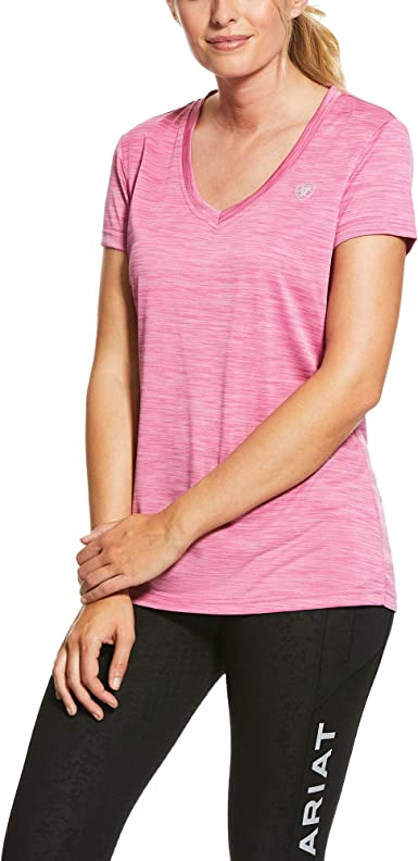 Heather Ariat Womens Laguna Short Sleeved Top